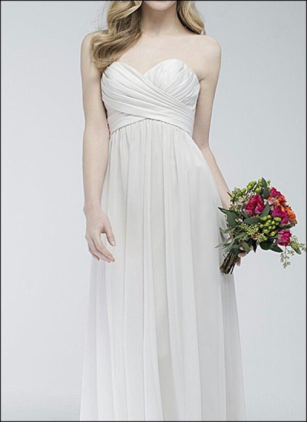 Elegant wedding dress with satin bodice | Lafanta | Abend- und Brautmode