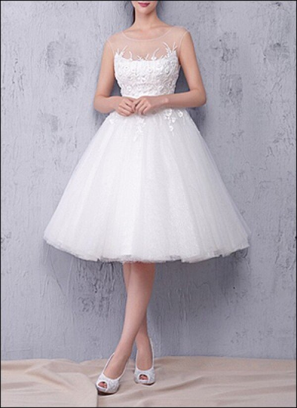 Wedding dress made of tulle with ballerina skirt | Lafanta | Abend- und Brautmode