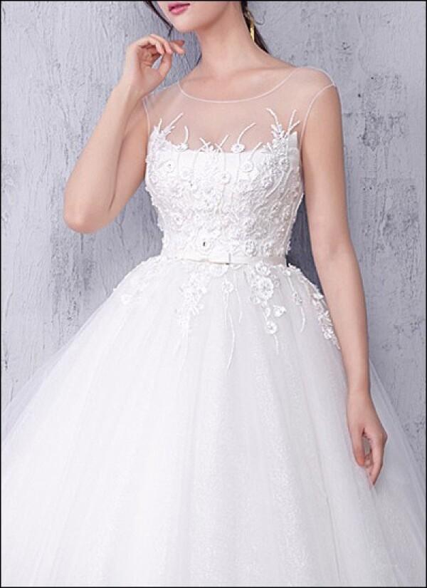 Wedding dress made of tulle with ballerina skirt | Lafanta | Abend- und Brautmode