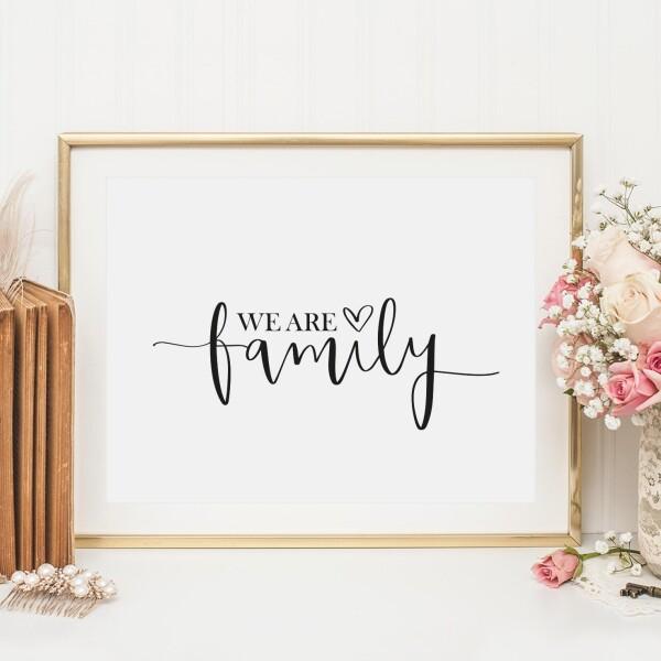 Tales by Jen Art Print: We are family | Tales by Jen