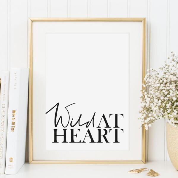Tales by Jen Art Print: Wild at heart | Tales by Jen