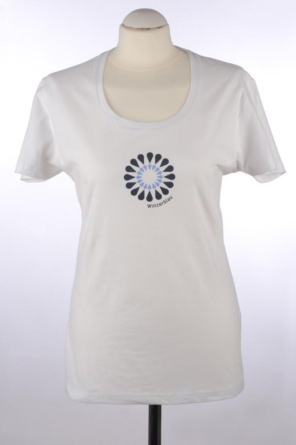 Tiny blue T-shirt ladies | Winzerblau