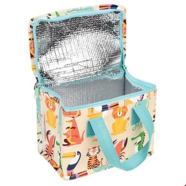 INSULATED SNACK BAG Cooler Bag Colorful Creatures Animals DESIGN | WohnGlanzVilla