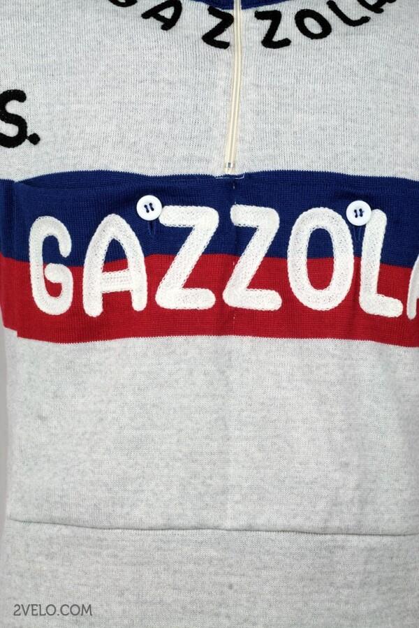 3e60b6873 GAZZOLA vintage style wool cycling jersey by 2velo