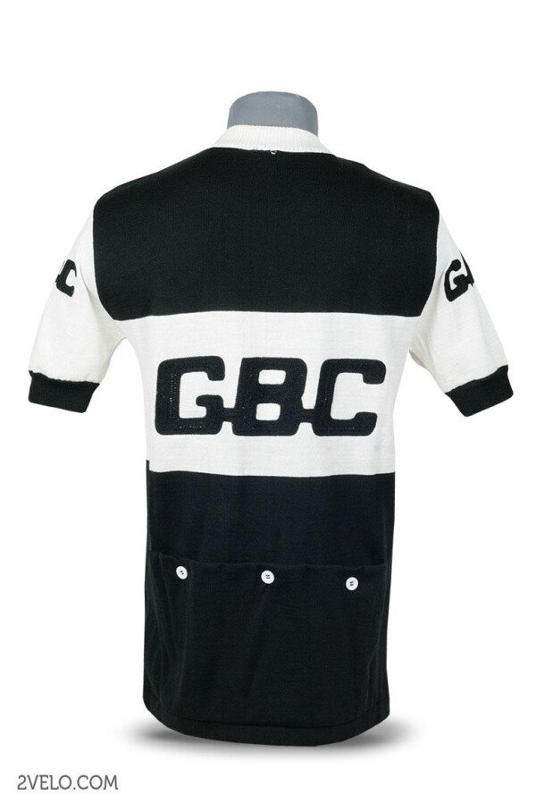 GBC vintage style wool cycling jersey | 2velo