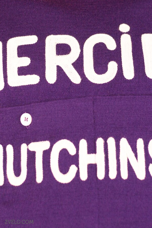 MERCIER vintage style wool cycling jersey | 2velo