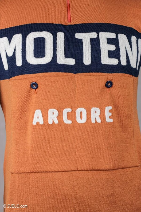 MOLTENI vintage style wool cycling jersey | 2velo