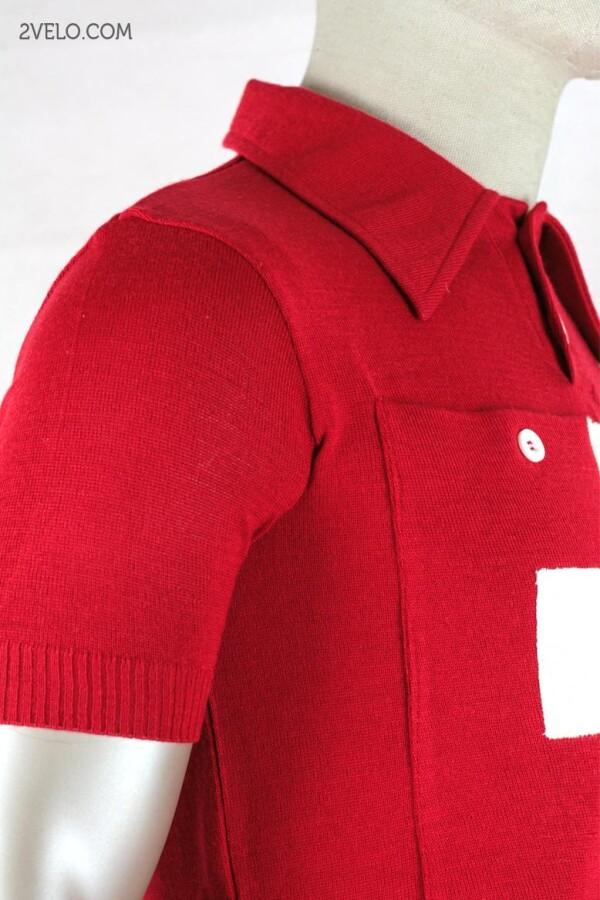 SWISS CHAMPION vintage style wool cycling jersey   2velo
