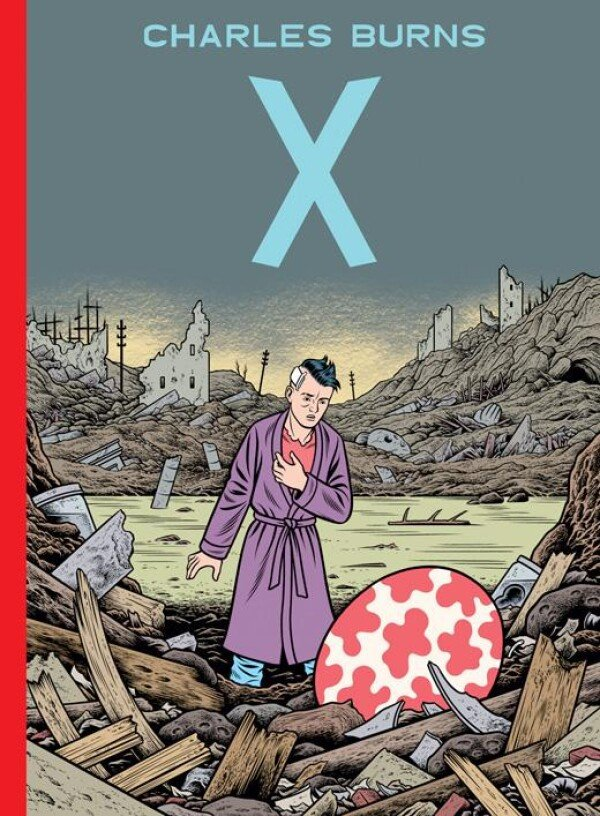 X Charles Burns of Reprodukt Graphics Novels | Großmanns