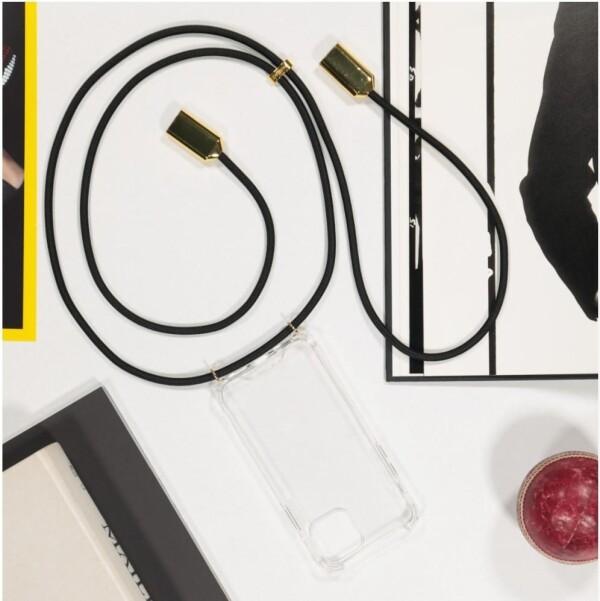 Phonelace Black and Gold iPhone USB Charging | Market Lifestore Bikini Box