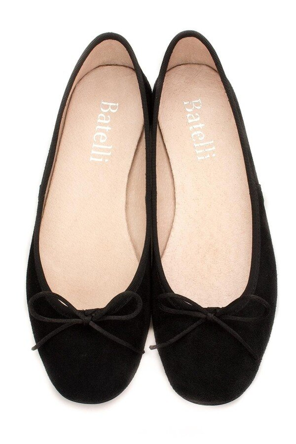 on sale 4adff 7c4e0 Ballerinas schwarz Wildleder Ballerinas NERO