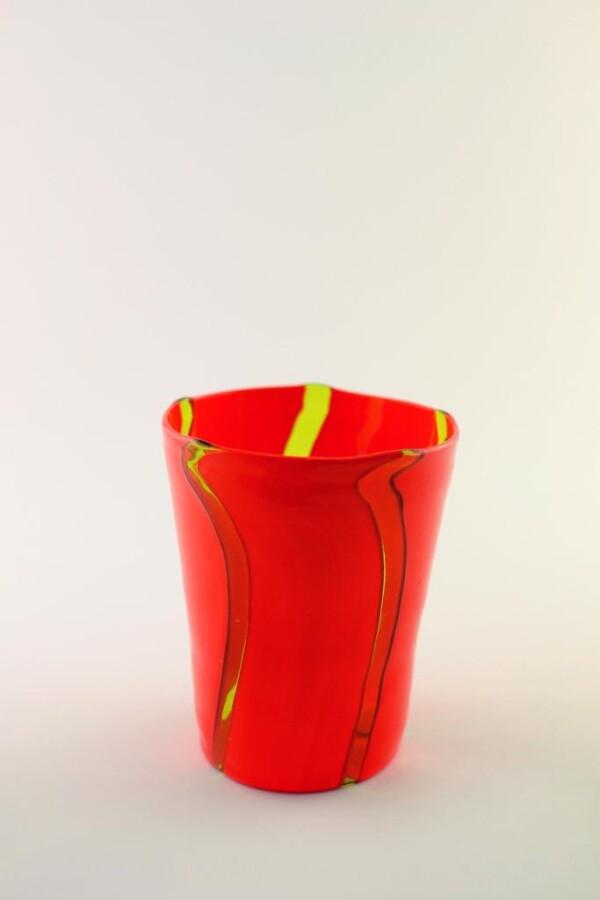 Murano Glas geblasene Becher