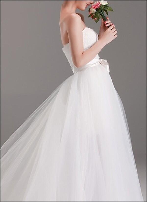 2 In 1 Brautkleid Mit Abnehmbarem Tullrock Von Lafanta Abend Und