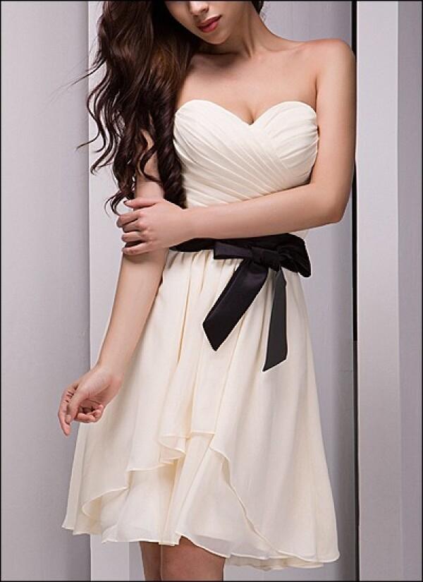 Kleid Fur Das Standesamt Mit Schleife Von Lafanta Braut Und Abendmode