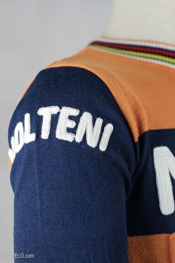 Radtrikot Vintage Wolle Molteni Stil Molteni SUMpqzV
