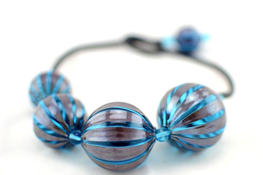 Murano Glas geblasen Halskette ´´SUGE XL´´