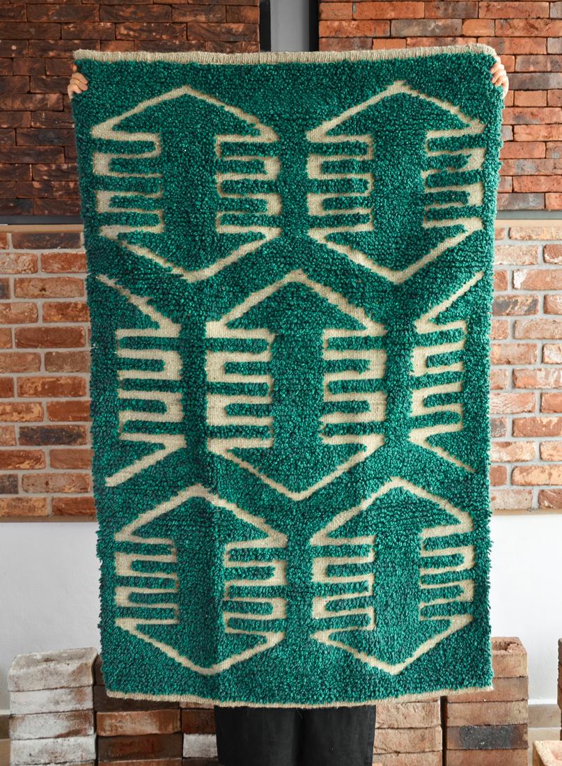 Wolle rug_Honeycombe