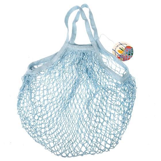 Shopping Bag Einkaufsnetz blau