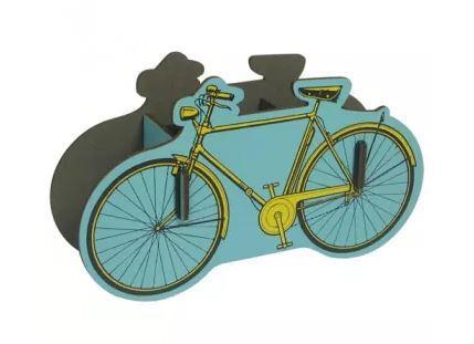 formes berlin Holzpostkarte Fahrrad