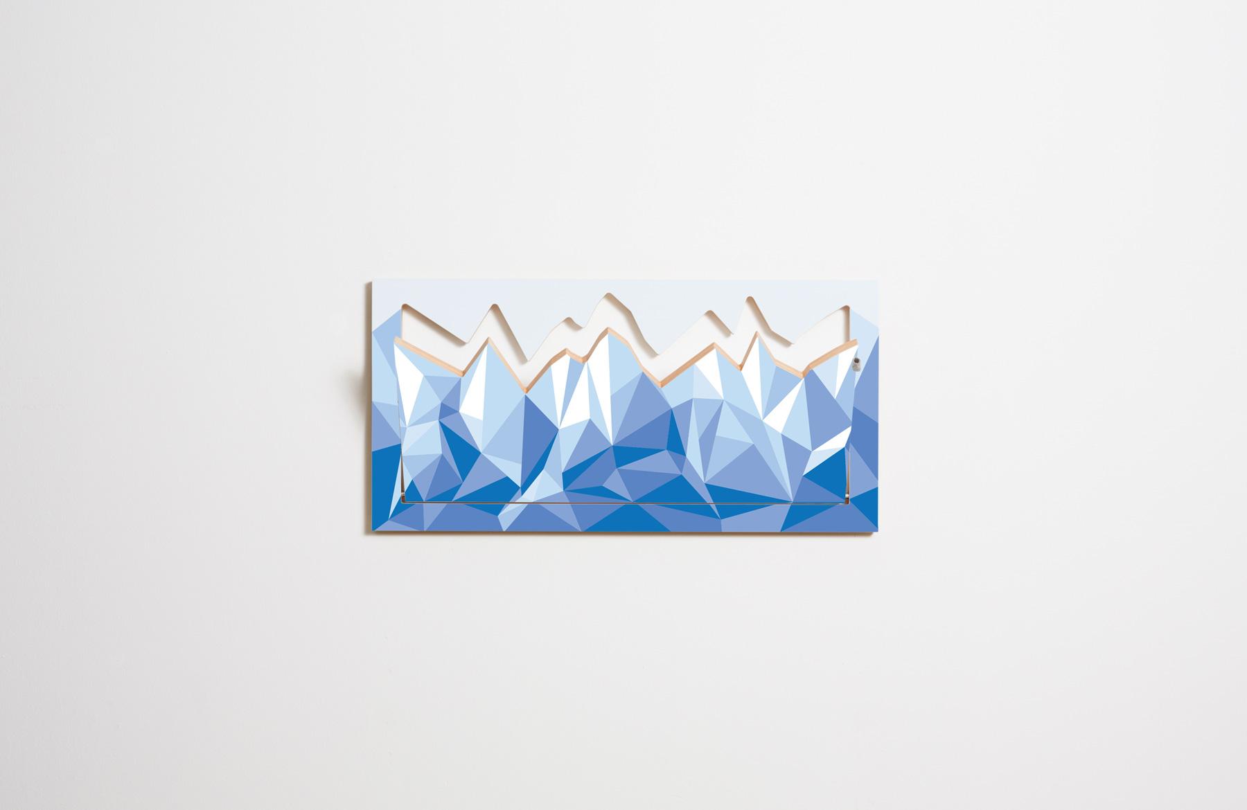 Fläpps Hillhäng – Motiv Eisberg