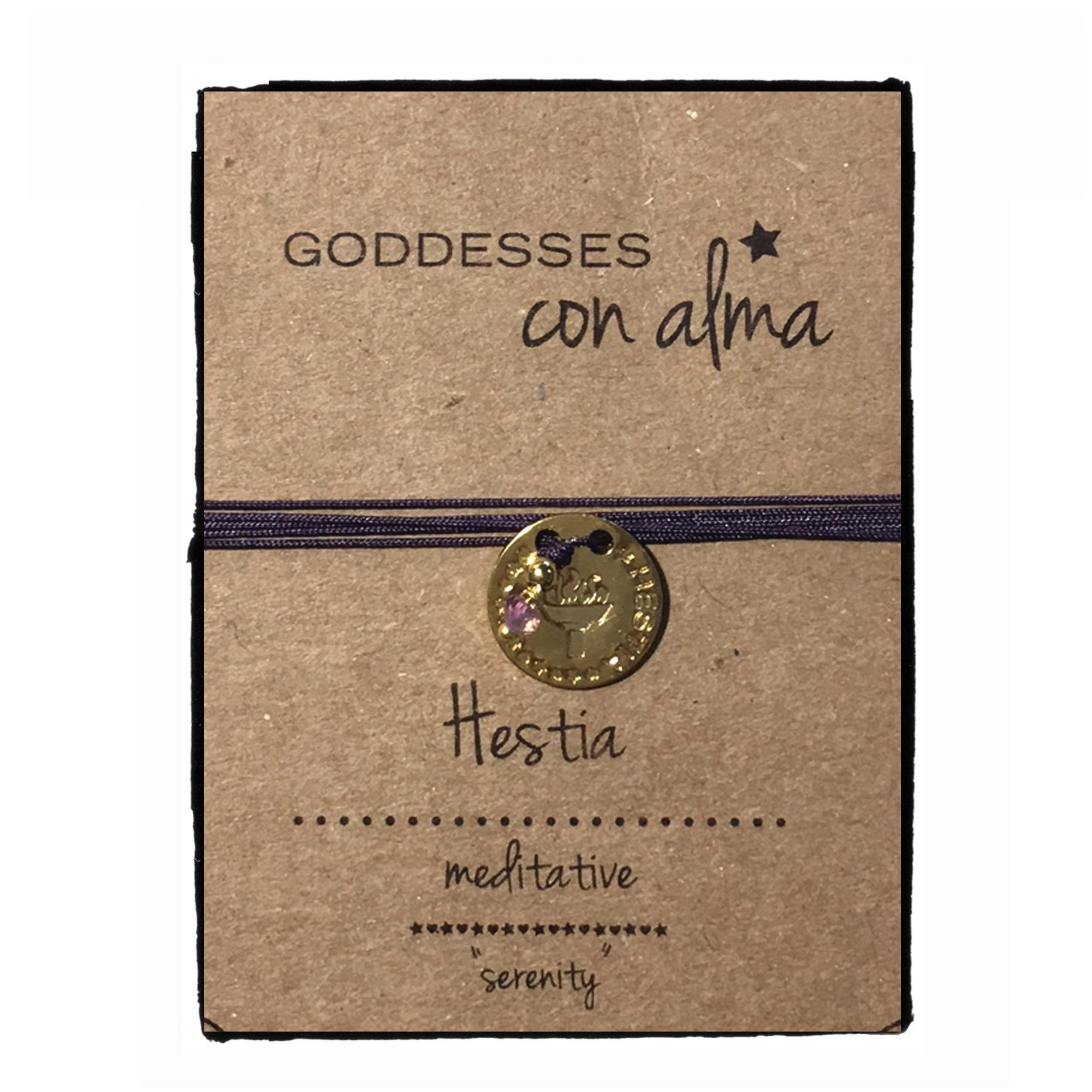 Halskette · Messing · vergoldet · Hestia