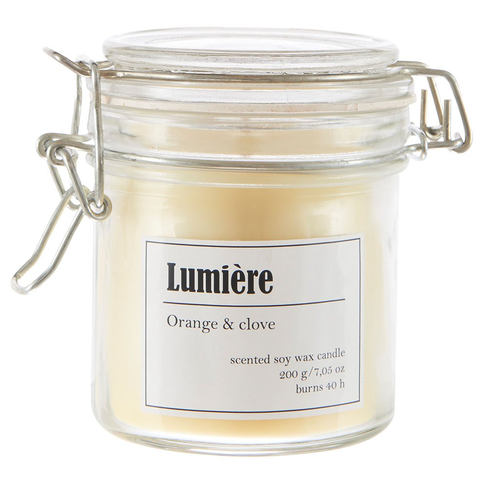 Duftkerze Lumiére - Orange & Clove