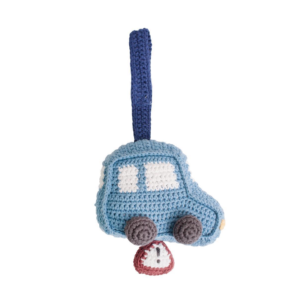 Sebra Blau Auto Hakeln Spieluhr Von Mama Mia