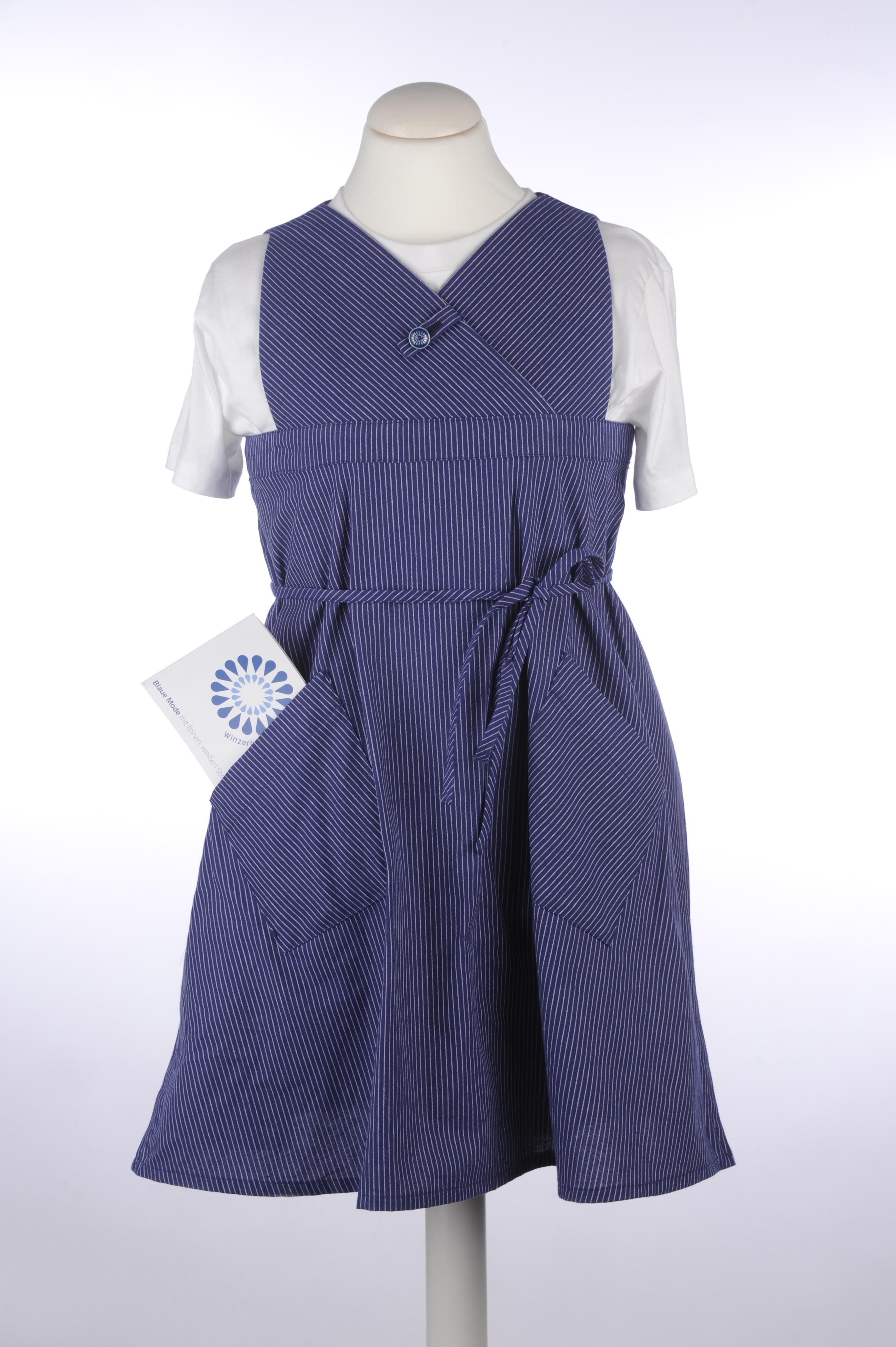 Winzerblau Kinderkleid