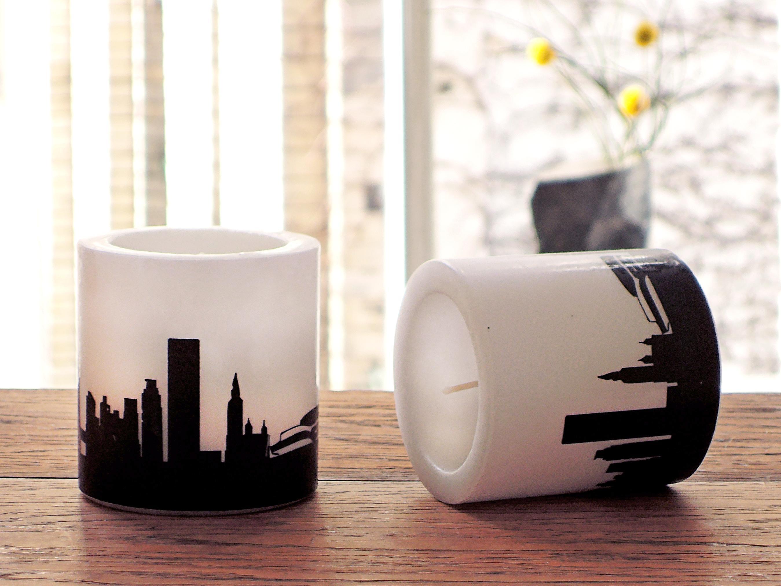 Modernes Kerzen-Set NEW YORK mit New York Skyline - 44spaces DUPLICATE