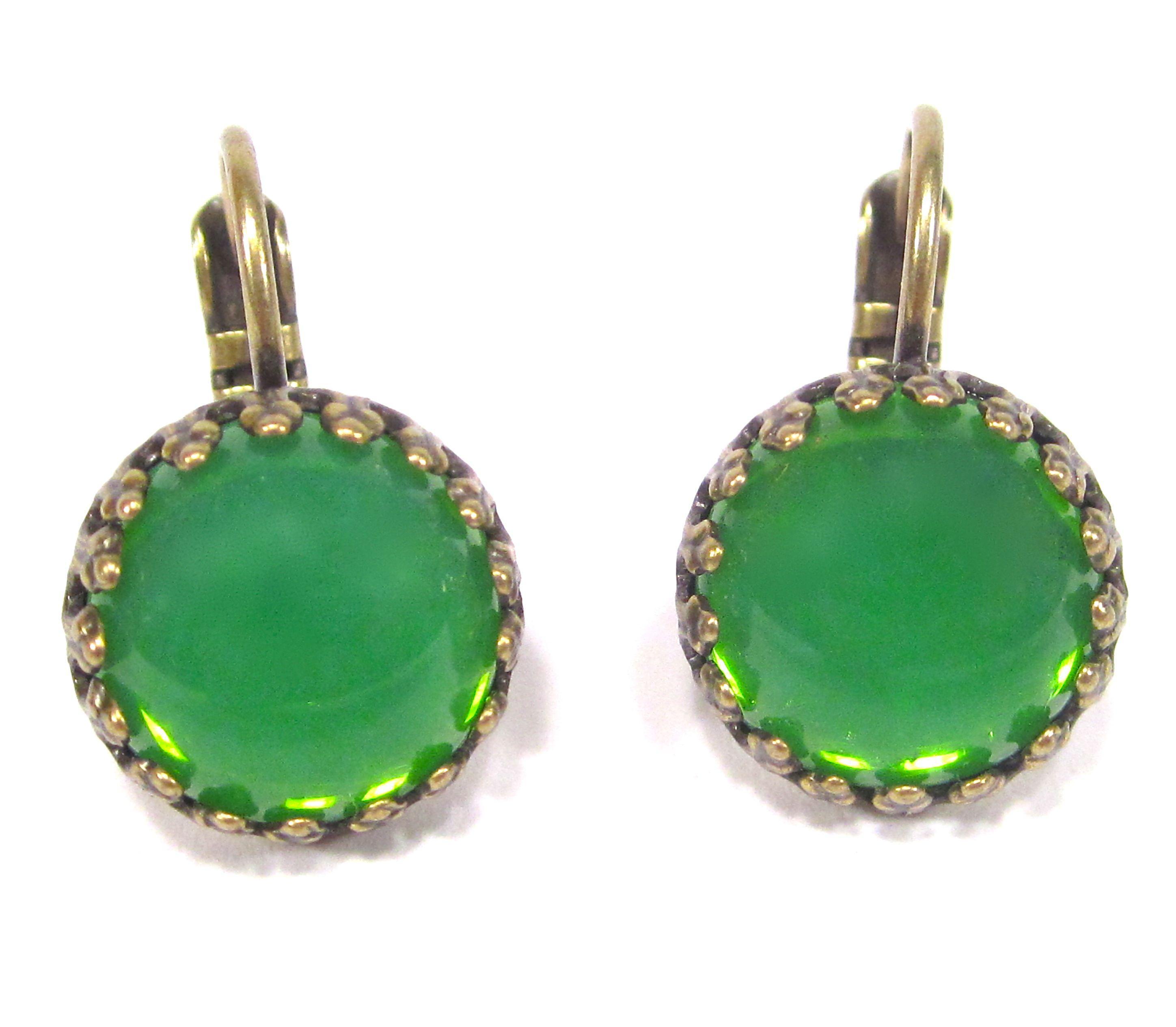 SoHo® Ohrhänger grün opal