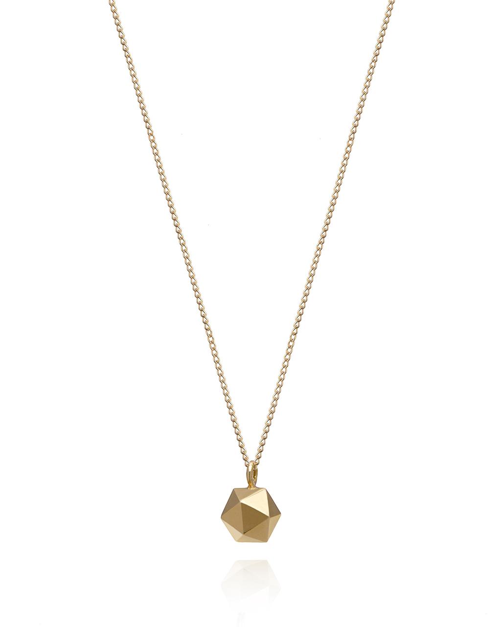 MINI ICOSAHEDRON Halskette Gold