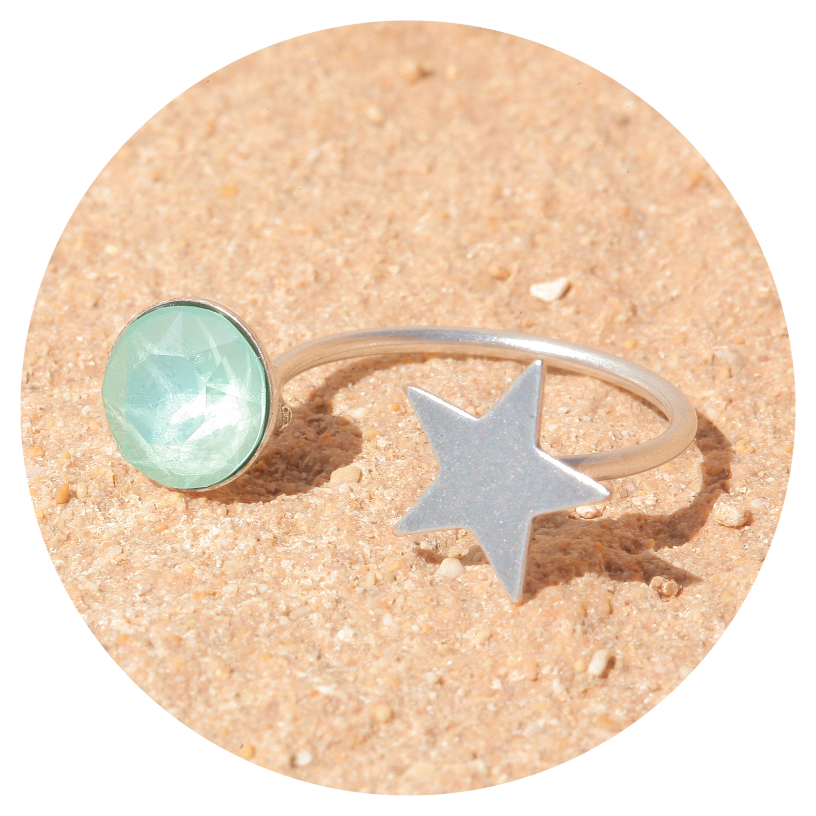 artjany Ring mint green