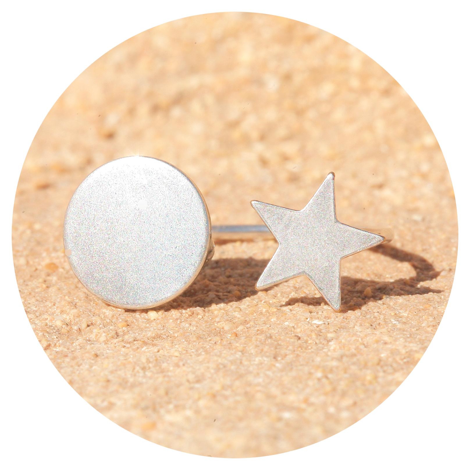 artjany Ring star & sun silber