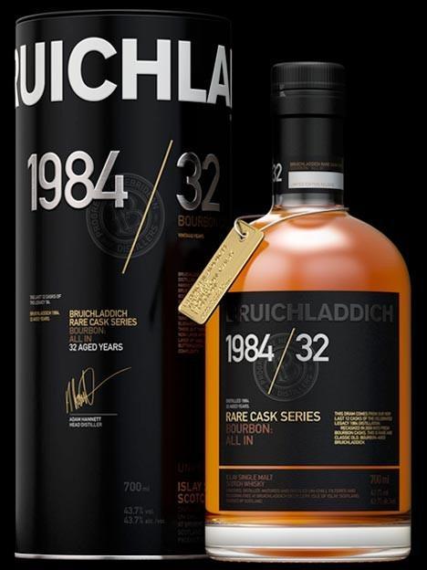 Bruichladdich 1984/32, Distilled 1984, 32 Aged ...