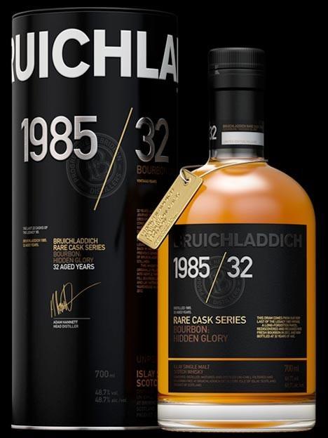 Bruichladdich 1985/32, 32Y. Rare Cask Series Bo...