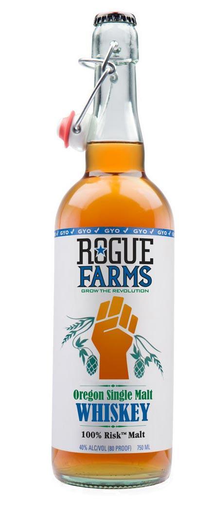 ROGUE Oregon Single Malt Whisky, 750ml, 40% Vol...