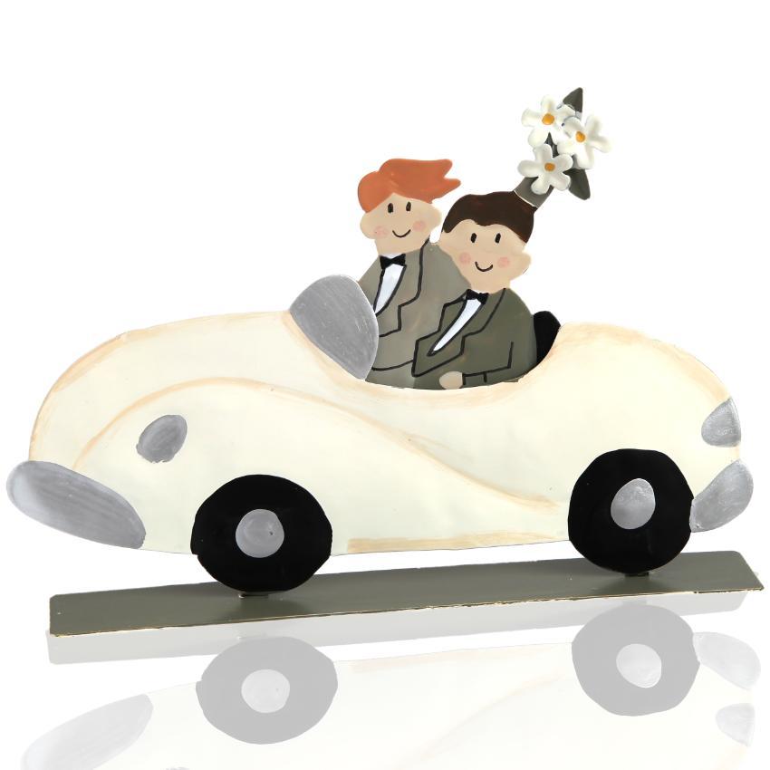 Schwules Hochzeitspaar der Firma Baden Import