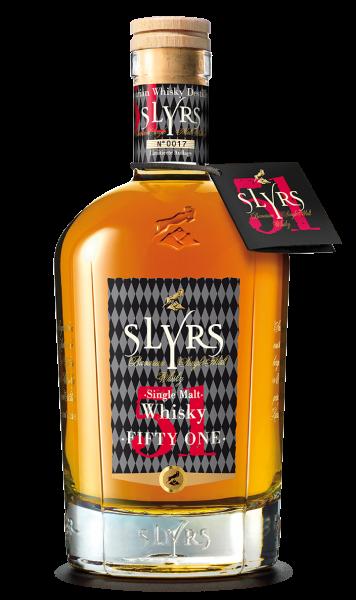Slyrs Single Malt Whisky, Fifty One, 0,35l, 51%...