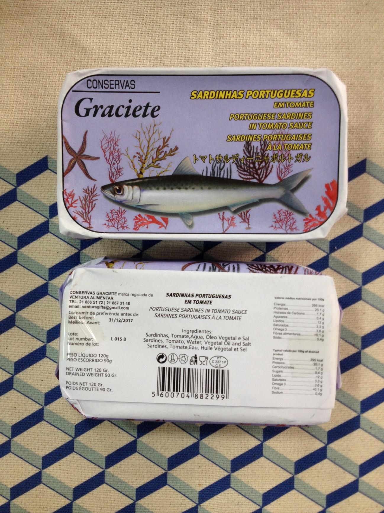 Sardinen in Tomatensauce - Graciete