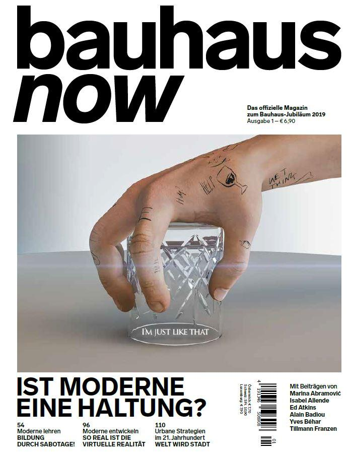 bauhaus now Magazin, Nr. 1