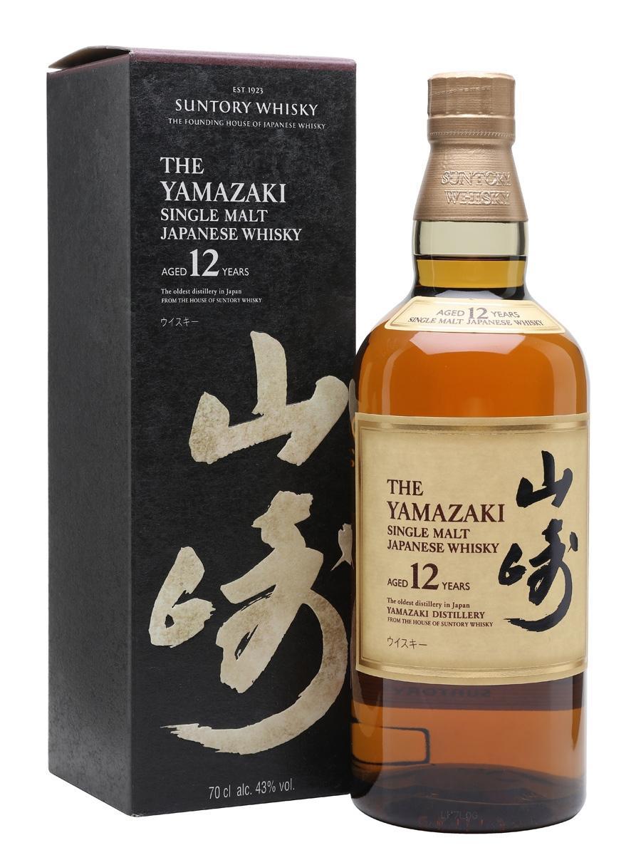 The Yamazaki Single Malt Whisky, 12 Y, 70 cl. 4...