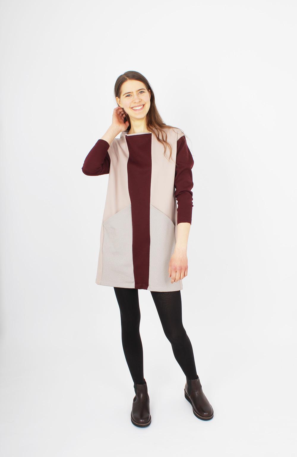 ZITAT Hayuk Dress Bordeaux